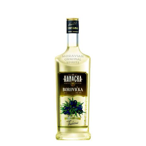 Hanácká Borovička 38% 0,5l