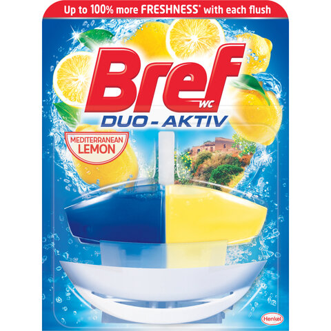 Bref Duo Aktive 50ml Lemon-WC závěs