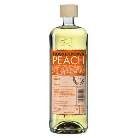 Koskenkorva Peach 21% 1,0l