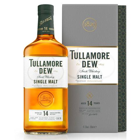 Tullamore Dew 14yo Single Malt GPK 41,3% 0,7l