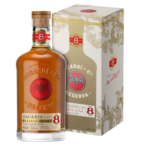 Rum Bacardi Reserva Ocho 40% 0,7l BOX