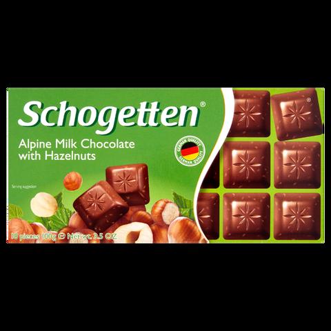 Schogetten Mléčná Lískooříšková 100g