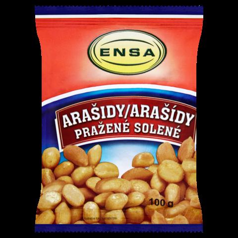 Arašídy Pražené 100g ENSA