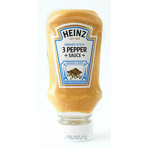Omáčka 3 druhy pepře 220ml Heinz/Emco