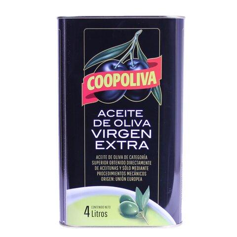 VÝPRODEJ!! Olej Olivový Extra Virgin COOPOLIVA 4l