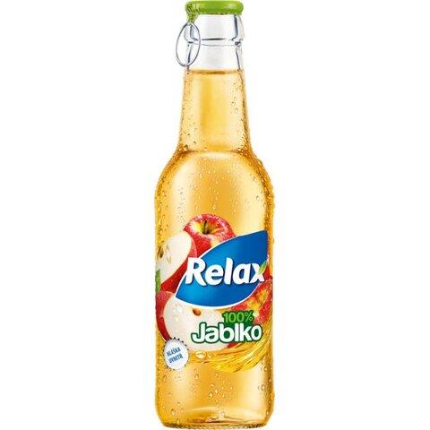 Relax SKLO Jablko 100% 0,25l