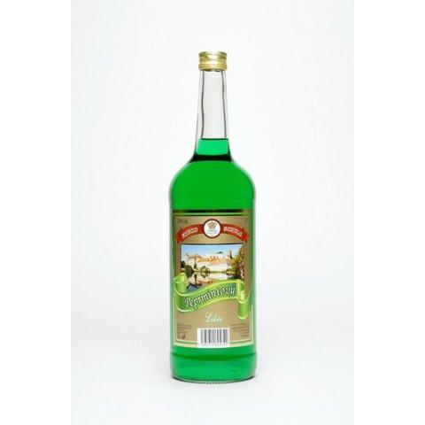 Jindřichohradecký Peprmintový Likér FRUKO 20% 1,0l