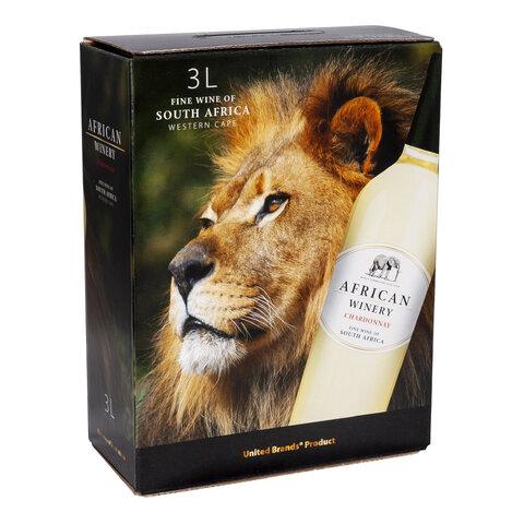 African Winery Chardonay BIB 3,0l