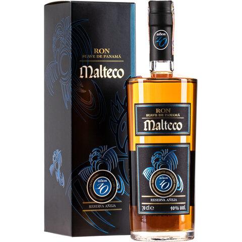 Rum Malteco 10y 40,5% 0,7l