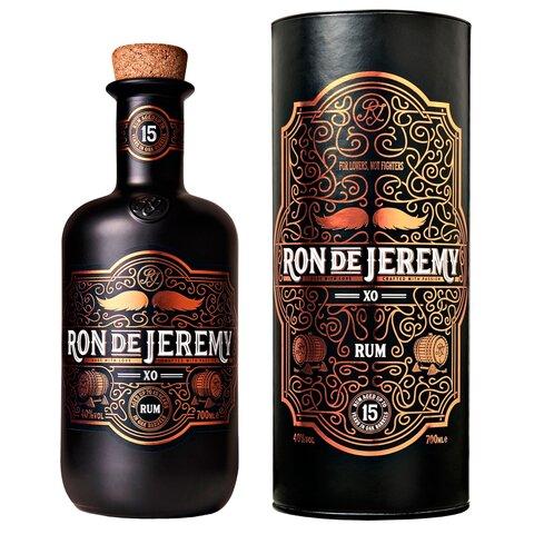 Rum Ron de Jeremy XO GB 40% 0,7l One Eyed Spirits TUBA
