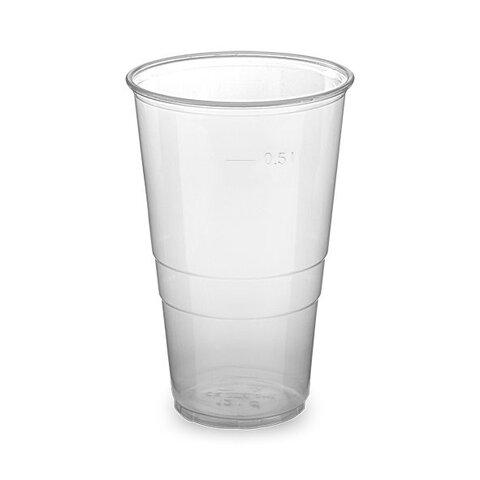 Kelímek 0,5l Průhledný (50Ks)
