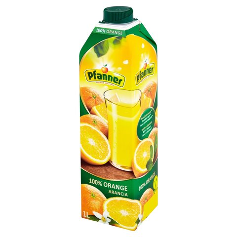 Pfanner TP Pomeranč 100% 1,0l
