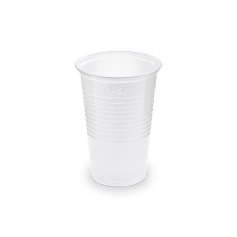 Kelímek 0,2l bílý (100ks)
