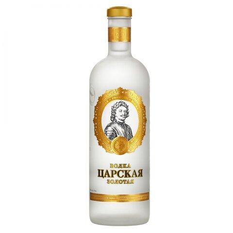 Vodka Carská Gold 40% 1,0l