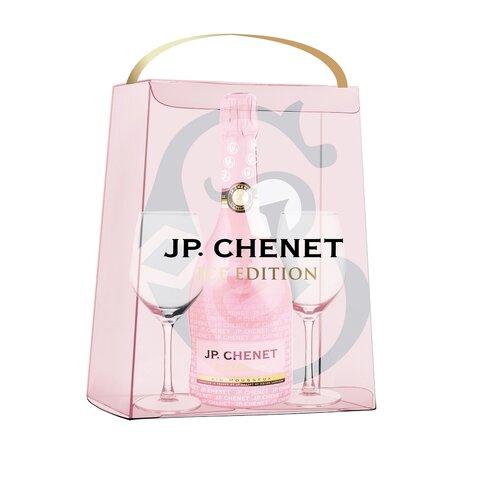 J.P.Chenet Sparkling Ice ROSE 0,75l+skleničky