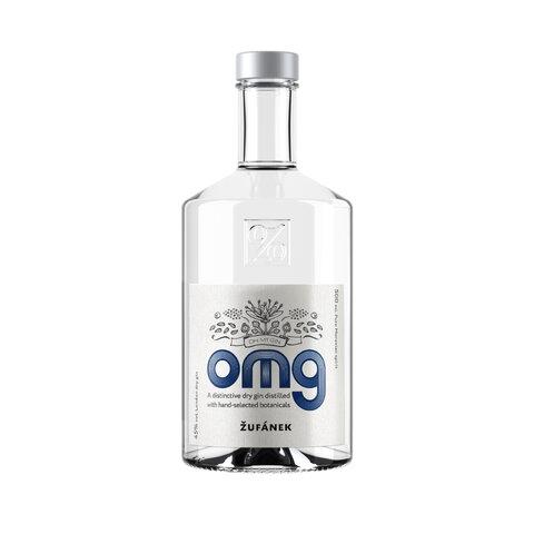 Gin OMG Žufánek 45% 0,5l