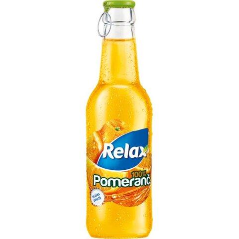 Relax SKLO Pomeranč 100% 0,25l