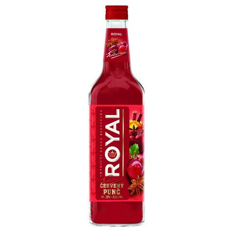 ROYAL Vinný Punč Červený 20% 0,5l