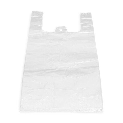 Tašky 10kg Bílé 30+18x55cm (100ks)
