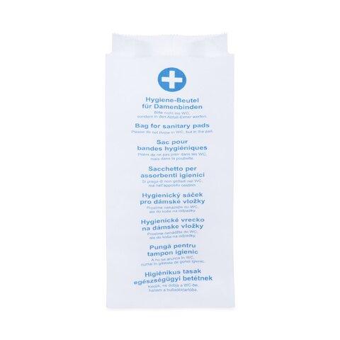 Hygienické papírové sáčky 11+6x28cm (100ks)