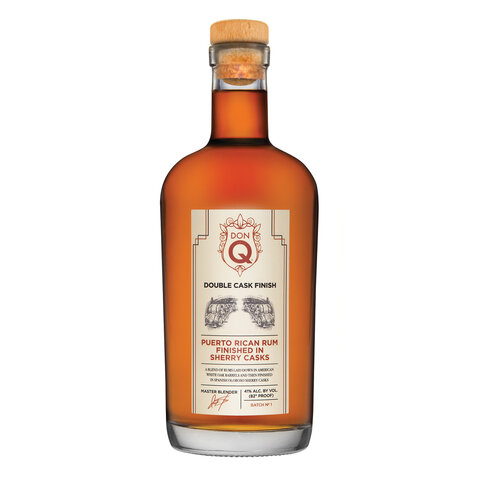 Don Q Double Wood Sherry Finnish Rum 41% 0,7l