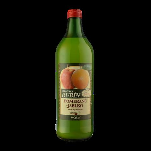 Lažanský Rubín Pomeranč-Jablko 1,0l