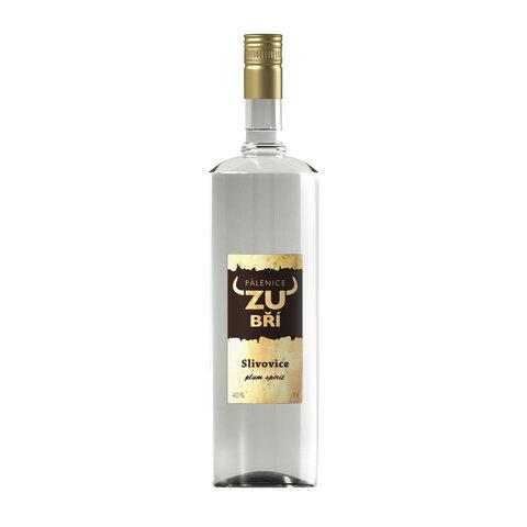 Zubří Slivovice 40% 1,0l