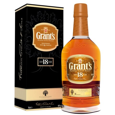 Grants 18yo GPK 40% 0,7l