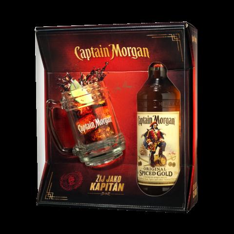 Cpt. Morgan Spiced 35% 0,7l+Korbel GB