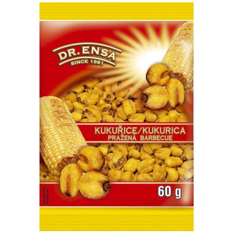 Kukuřice Pražená Solená BBQ Ensa 60g