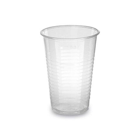 Kelímek 0,3l Průhledný (100ks)