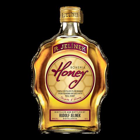 RJ Bohemia Honey Budík 35% 0,7l