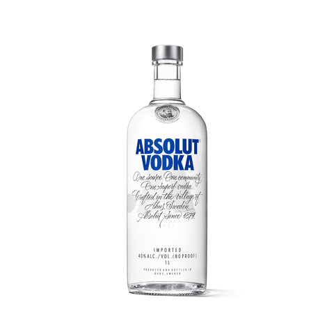 Vodka Absolut Blue 40% 1,0l