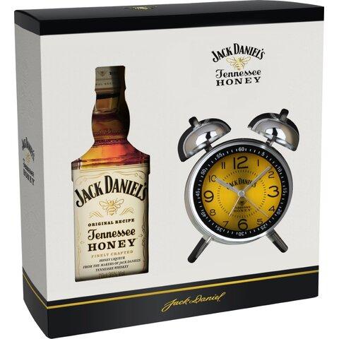 Jack Daniels Honey 35% 0,7l GB Budík