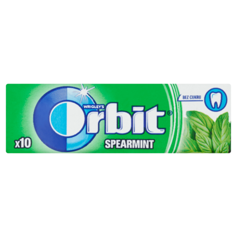 Orbit Peppermint Dražé 14g