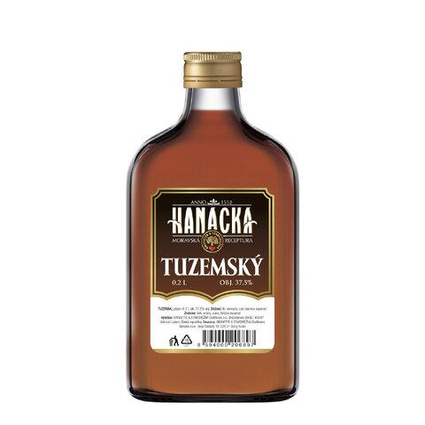 Hanácká Tuzemský 37,5% 0,2l