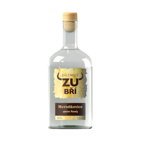 Zubří Meruňkovice 50% 0,5l