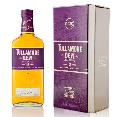 Tullamore Dew 12yo 40% 0,7l