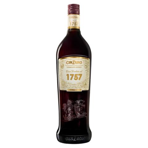"""Cinzano Rosso Vermut """"1757"""" 16% 1,0l"""