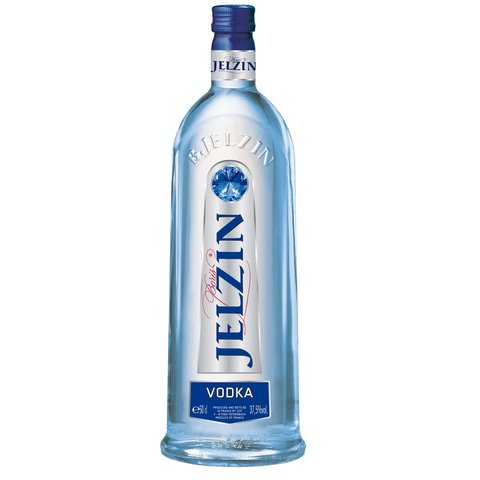 Jelzin Vodka Clear 37,5% 0,5l