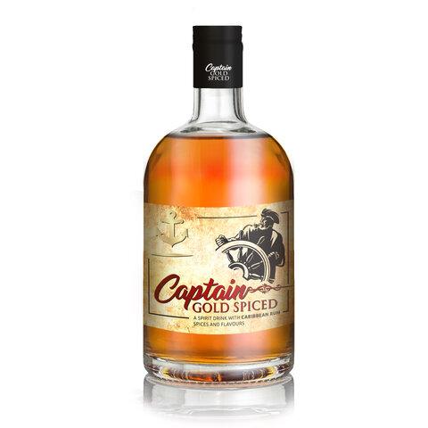 Captain Gold Spiced UB 35% 0,7l