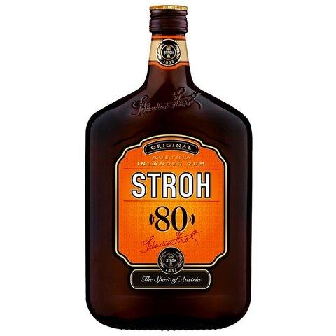 Rum Stroh 80% 0,5l