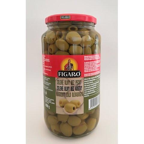 Olivy Zelené bez pecky 920g
