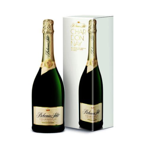 Bohemia brut Chardonnay GB 0,75l Dárkové balení