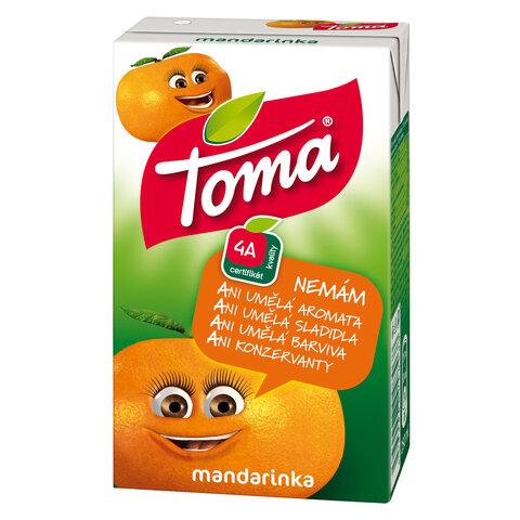 Toma TP 0,25l (brčko) Mandarinka