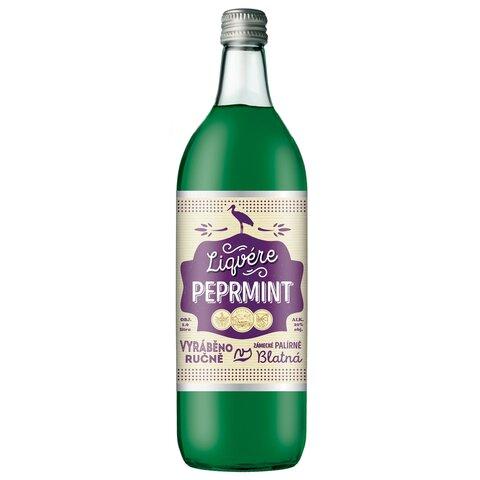 Liqvére Peprmint Blatná 20% 1,0l