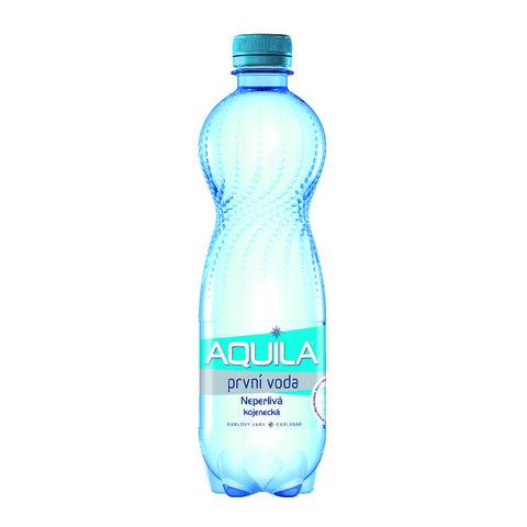 Aquila PET 0,5l První Voda Neperlivá