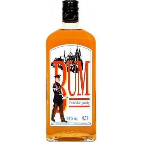 Rum Bum Pražské Gardy 40% 0,7l