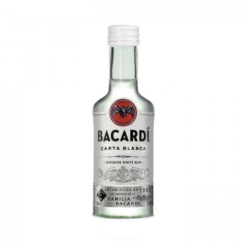 Rum Bacardi Blanco 40% 0,05l