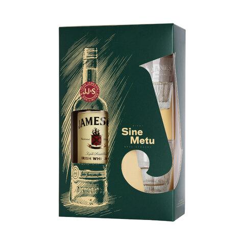Jameson 40% 0,7l Dárková Kazeta + 2x Sklo